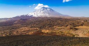 Parco nazionale di Tenerife Teide Fotografie Stock Libere da Diritti
