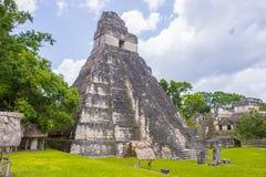 Parco nazionale di Tikal Fotografia Stock Libera da Diritti