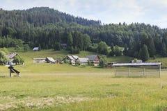 Parco nazionale di Triglav, valle di Bohinj, Julian Alps, Slovenia, Europa Fotografie Stock
