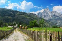 Parco nazionale di Valbona Fotografia Stock