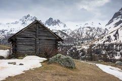 Parco nazionale di Vanoise Fotografia Stock