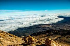 Parco nazionale di Volcano Pico del Teide El Teide, Tenerife, isole Canarie, Spagna Fotografia Stock