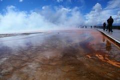 Parco nazionale 8 di Yellowstone Immagini Stock Libere da Diritti