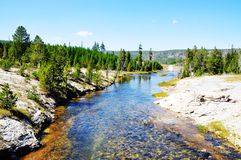 Parco nazionale di Yellowstone Immagini Stock Libere da Diritti