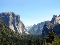 Parco nazionale di Yosemite immagini stock