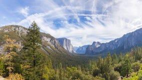 Parco nazionale di Yosemite Fotografia Stock