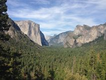 Parco nazionale di Yosemite Immagine Stock Libera da Diritti
