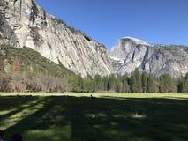 Parco nazionale di Yosemite California Stati Uniti con la mezza cupola Immagini Stock Libere da Diritti