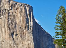 Parco nazionale di Yosemite di EL Capitan Fotografia Stock Libera da Diritti