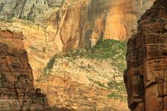 Parco nazionale di Zion Immagine Stock Libera da Diritti