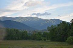 Parco nazionale fumoso della montagna Fotografia Stock Libera da Diritti