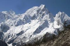 Parco nazionale himalayano di Manaslu Fotografie Stock Libere da Diritti