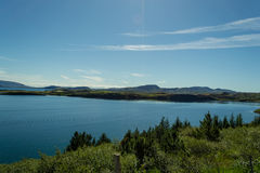 Parco nazionale Islanda di estate Immagine Stock