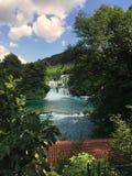 Parco nazionale Krka Fotografia Stock