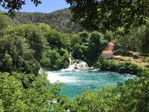 Parco nazionale Krka Fotografia Stock Libera da Diritti