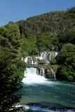 Parco nazionale KRKA - cascate Immagini Stock