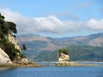 Parco nazionale Nuova Zelanda di Abel Tasman Fotografia Stock Libera da Diritti