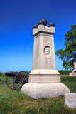 Parco nazionale seconda Maine Battery Memorial di Gettysburg Fotografia Stock Libera da Diritti
