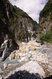 Parco nazionale Taiwan di Taroko immagini stock libere da diritti