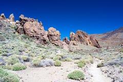 Parco nazionale Teide Fotografia Stock Libera da Diritti