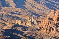 Parco nazionale Tenerife di EL Teide Fotografia Stock
