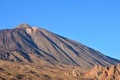 Parco nazionale Tenerife di EL Teide Immagine Stock