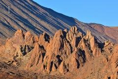 Parco nazionale Tenerife di EL Teide Immagine Stock Libera da Diritti