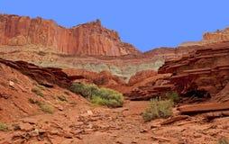 Parco nazionale unico della scogliera di Captiol di formazione rocciosa Immagine Stock Libera da Diritti