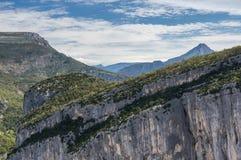 Parco nazionale Verdon Fotografia Stock Libera da Diritti