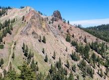 Parco nazionale vulcanico del paesaggio insolito, Lassen immagini stock