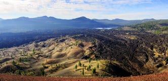 Parco nazionale vulcanico di Lassen Fotografia Stock Libera da Diritti