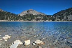 Parco nazionale vulcanico di Lassen in California Fotografia Stock