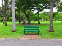 Parco nella città fotografia stock