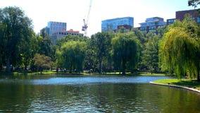 Parco nella città Immagine Stock Libera da Diritti