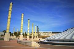 Parco olimpico, Barcellona Fotografie Stock Libere da Diritti