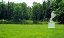 Parco in Oranienbaum, St Petersburg Fotografie Stock Libere da Diritti