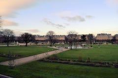 Parco a Parigi Fotografie Stock