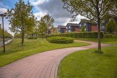 Parco in porro Groninga Paesi Bassi Fotografia Stock Libera da Diritti