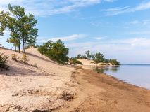 Parco provinciale dei banchi di sabbia fotografia stock libera da diritti