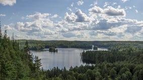 Parco provinciale del Algonquin, SOPRA, il Canada video d archivio