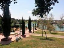 Parco pubblico di Raanana Fotografia Stock Libera da Diritti