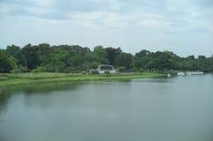 Parco pubblico di re Rama IX immagini stock libere da diritti