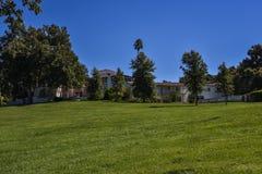 Parco pubblico storico del palazzo di re Gillette Ranch Main Fotografie Stock
