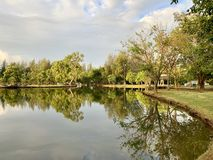 parco pubblico in Tailandia immagini stock