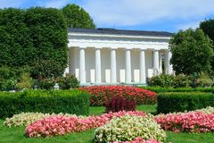 Parco pubblico a Vienna Fotografia Stock