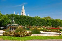 Parco pubblico Volksgarten Immagine Stock