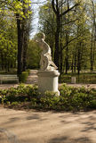 Parco reale di Lazienki (bagno) Punto di riferimento verticale Fotografia Stock