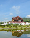 Parco reale Ratchaphruek in Chiang Mai, Tailandia Immagine Stock