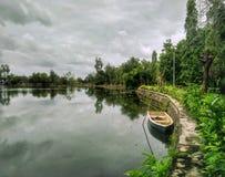 Parco ricreativo di Tasik Melati, Kangar, Perlis fotografia stock libera da diritti