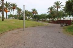 Parco ricreativo nella città immagini stock libere da diritti